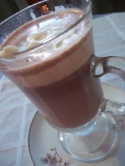 Chocolate caliente de Nutella 03