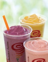 JAMBA JUICE FIT 'N FRUITFUL SMOOTHIES